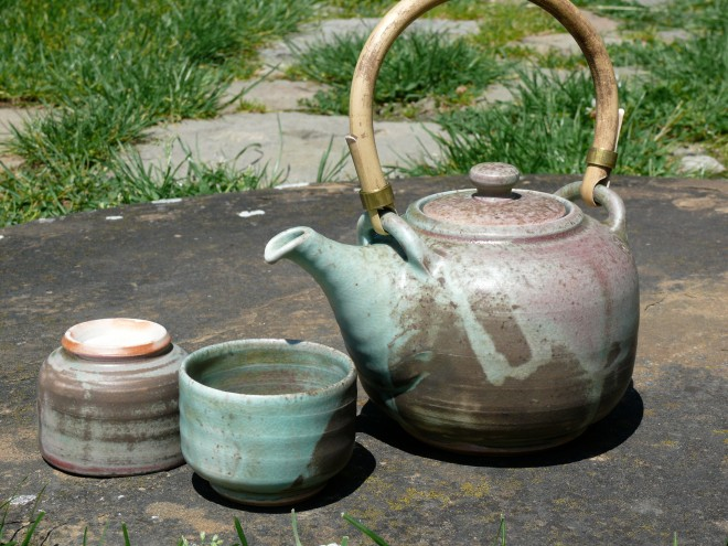 čajová souprava, porcelán