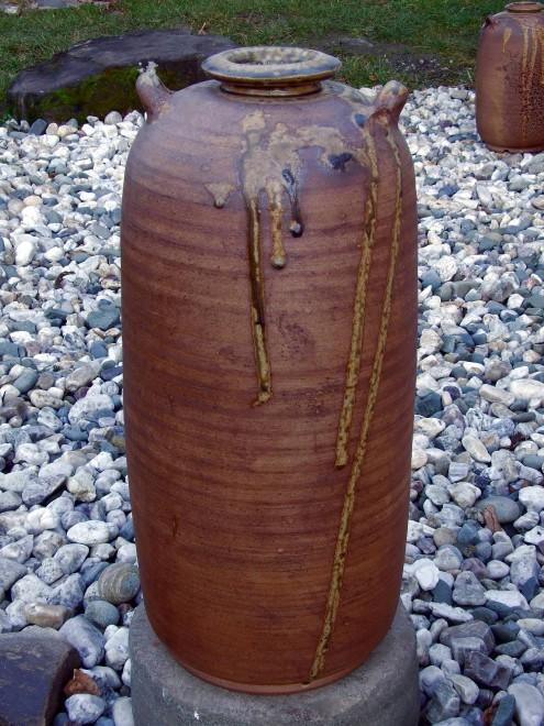 Váza kobercová, kamenina
